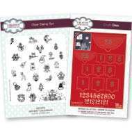 Christmas Advent Die & Stamps