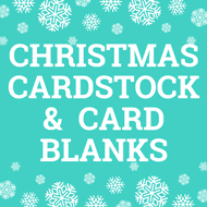 Christmas Cardstock & Card Blanks