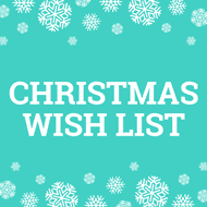 CraftStash's Christmas Wish List