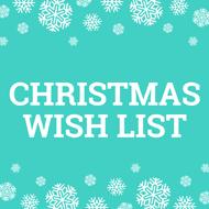CraftStash's Christmas Wish List