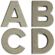 Aladine Concrete Letters