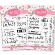 Festive Sentiment Stamps
