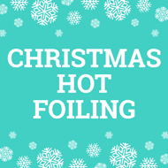 Christmas Hot Foiling