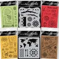 Hunkydory January Stamps & Masks
