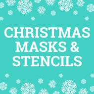 Christmas Masks and Stencils