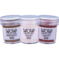 WOW! Metallic & Pearlescent Embossing Powder