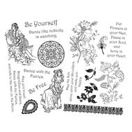 Bohemian Bouquet Stamps