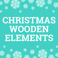 Christmas Wooden Elements