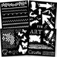 Woodware Stencils