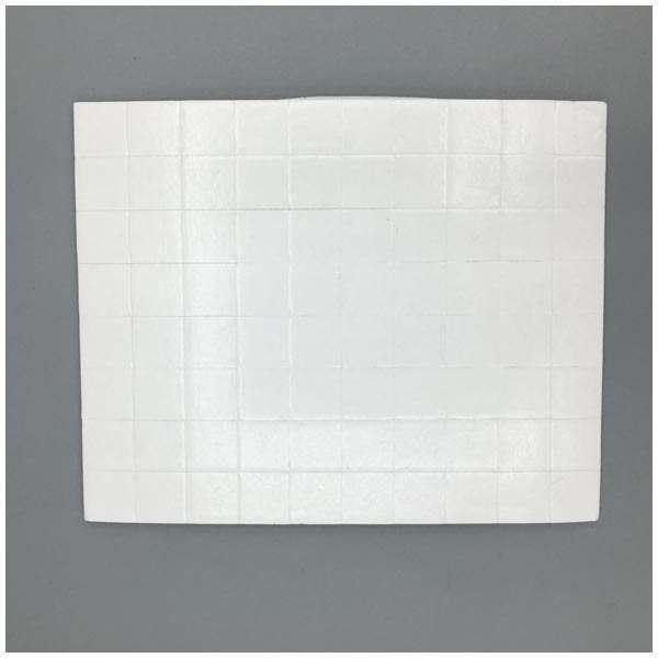 10 x CraftStash 3D 2mm Thick Foam Pad White 12mm x 12mm Bundle