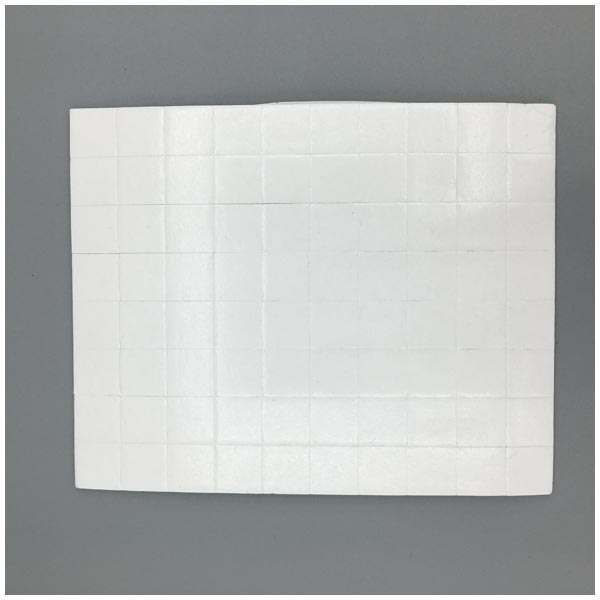 10 x CraftStash 3D 1mm Thick Foam Pad White 12mm x 12mm Bundle