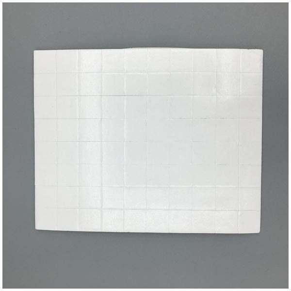10 x CraftStash 3D 3mm Thick Foam Pad White 12mm x 12mm Bundle