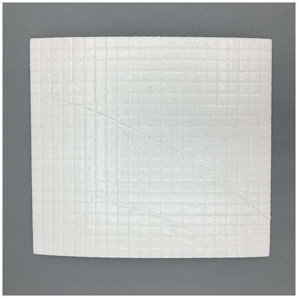 10 x CraftStash 3D 1mm Thick Foam Pad White 5mm x 5mm Bundle