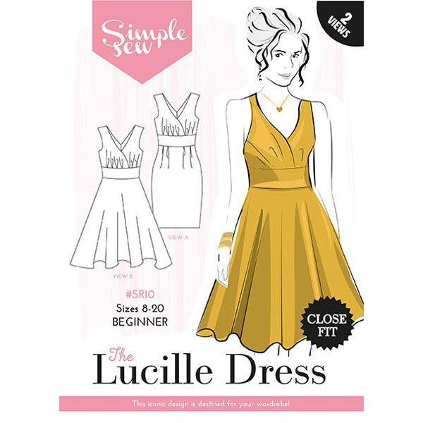 Simple Sew sewing pattern - The Lucille Dress