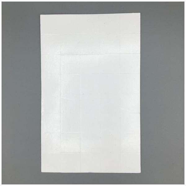 10 x CraftStash 3D 1mm Thick Foam Pad White 24mm x 24mm Bundle