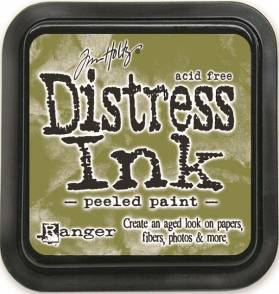 Ranger Distress Ink Pad 3in X 3in By Tim Holtz   Peeled Paint