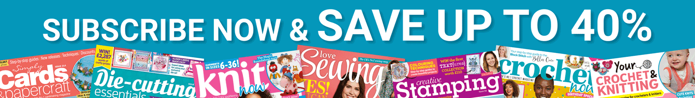Subscribe to Simply Cards & Papercraft and Save Up To 40%